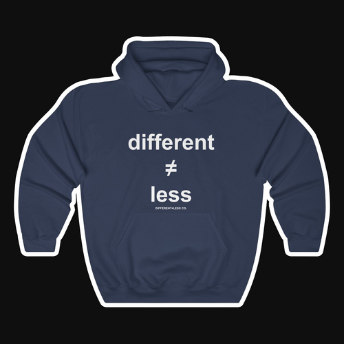 D≠L Original v.1A Unisex Heavy Blend™ Hooded Sweatshirt
