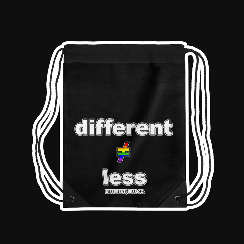 D≠L Lightweight Drawstring PRIDE Bag