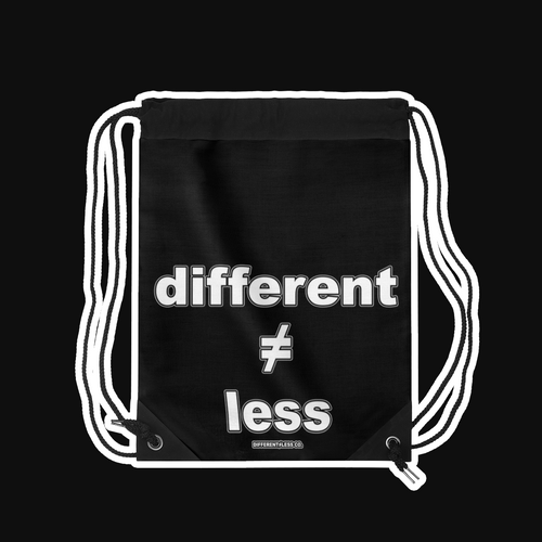 D≠L Original Lightweight Drawstring Bag