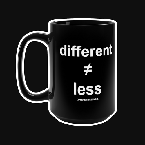 DIFFERENT≠LESS CO. Original v.1 Mug 15oz
