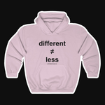 D≠L Original v.1B Unisex Heavy Blend™ Hooded Sweatshirt