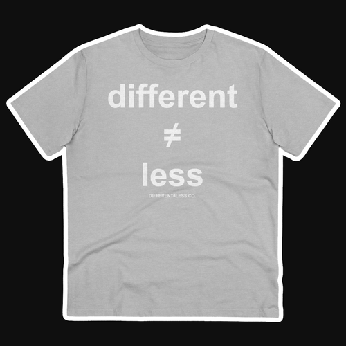 D≠L Unisex 100% Organic Ring-Spun Cotton T-shirt