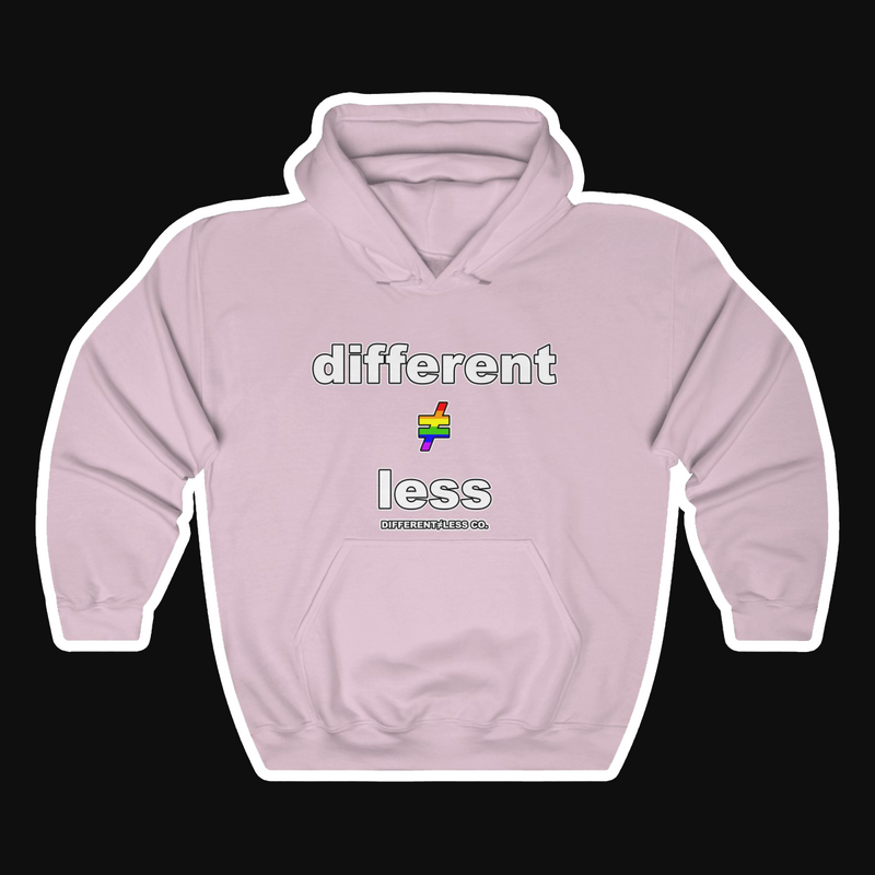 D≠L PRIDE Unisex Heavy Blend™ Hooded Sweatshirt