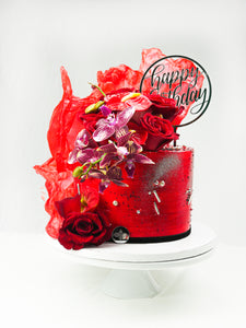 "8"" Carte Blanche Celebration Cake"