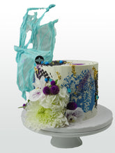 "Load image into Gallery viewer, 8"" Carte Blanche Celebration Cake"