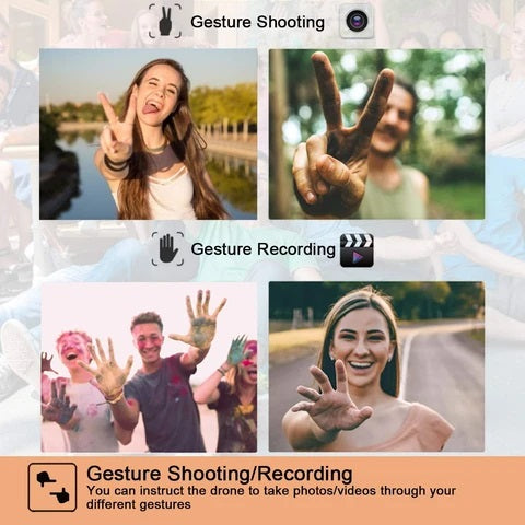 Gesture Mode allows remote picture or video