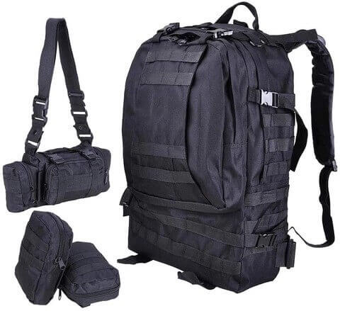 Military Backpack with Molle System