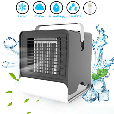 Cooling fan mini air conditioner