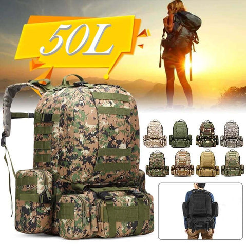 50 Liter Military style backpack