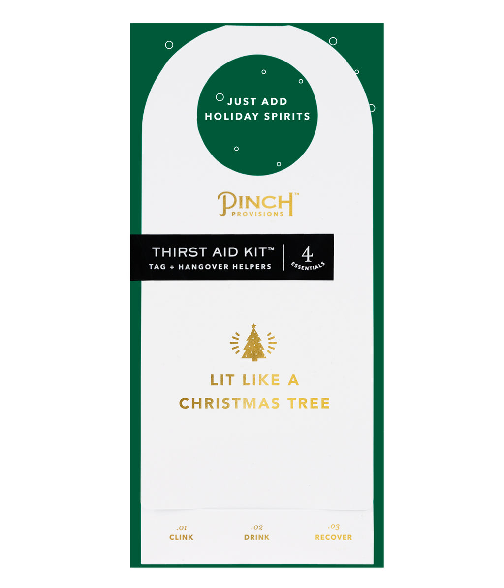 Thirst Aid Kit | Lit Like a Christmas Tree