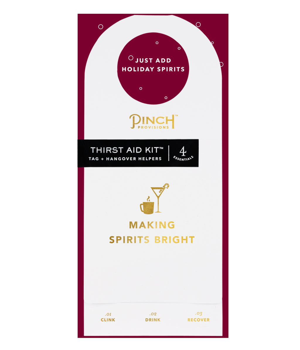 Thirst Aid Kit | Making Spirits Bright