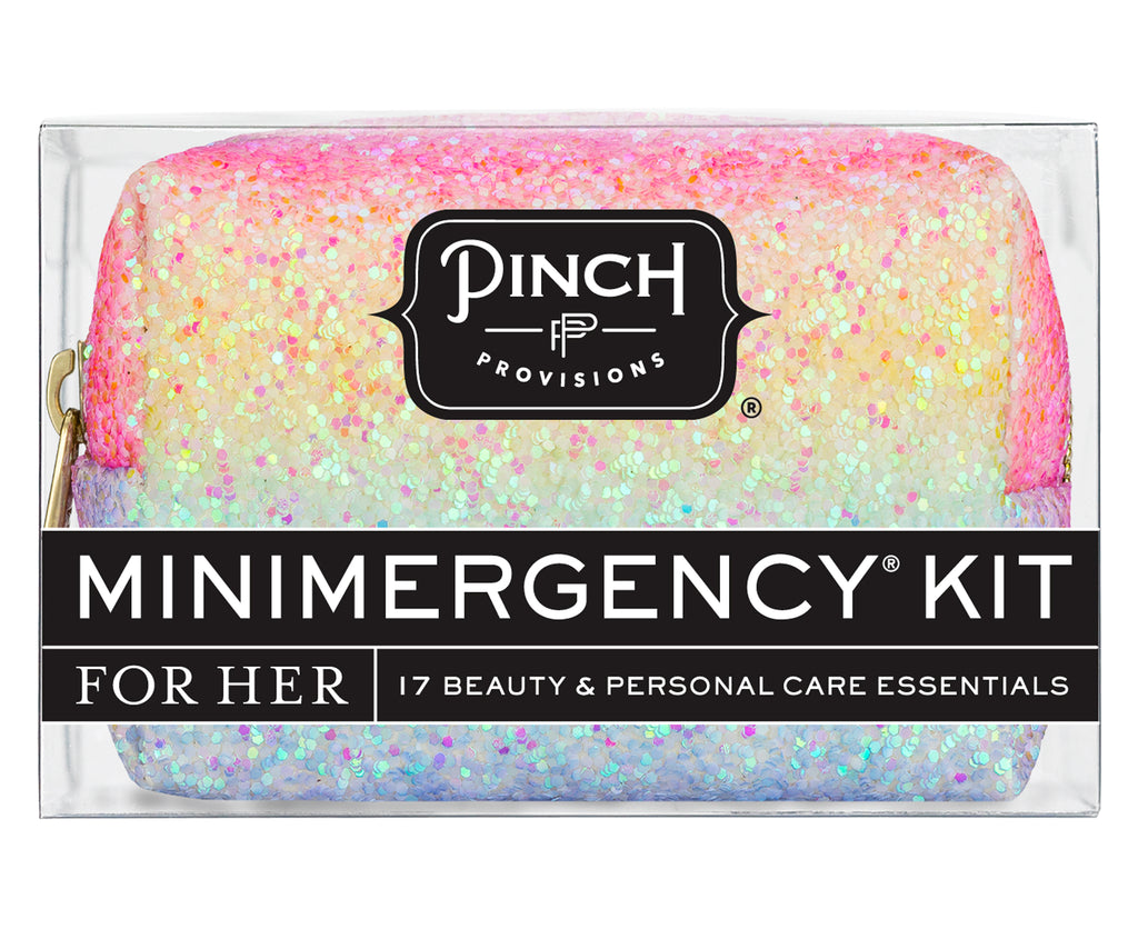 Rainbow Glitter Minimergency Kit