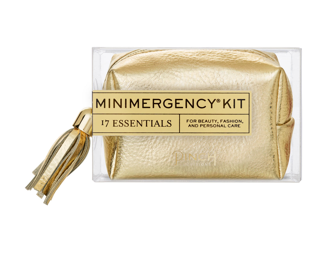 Metallic Tassel Minimergency Kit
