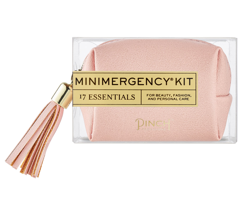 Vegan Leather Minimergency Kit