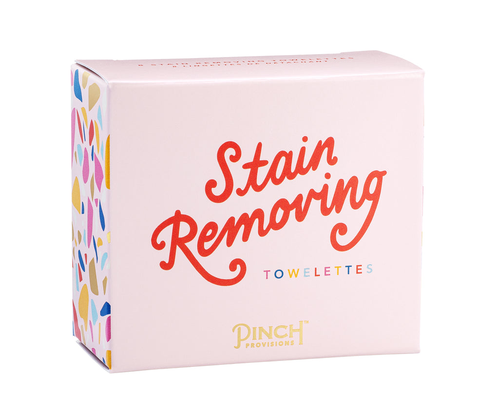 Stain Removing Towelettes