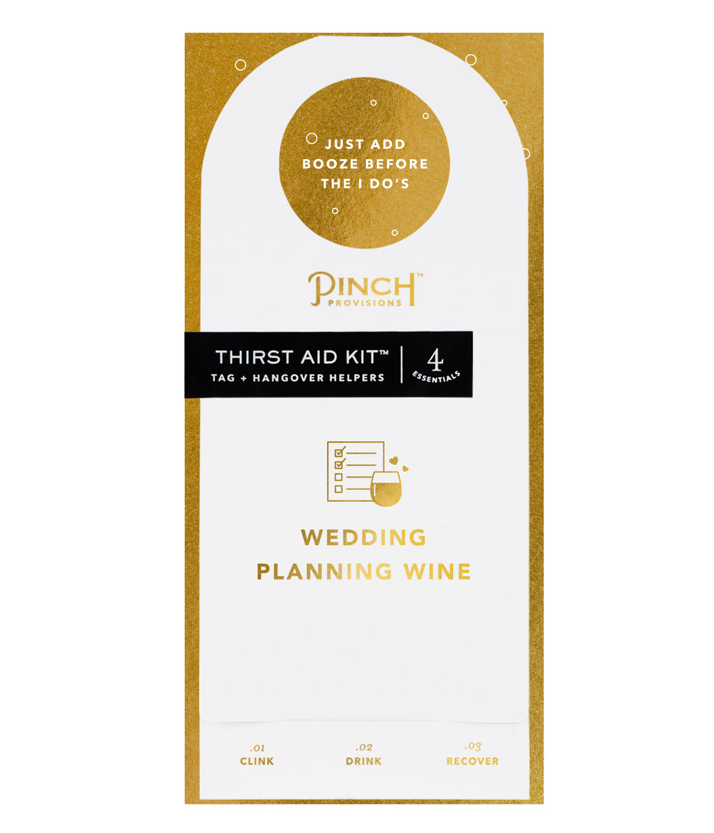 Thirst Aid Kit | Wedding Planning Wine
