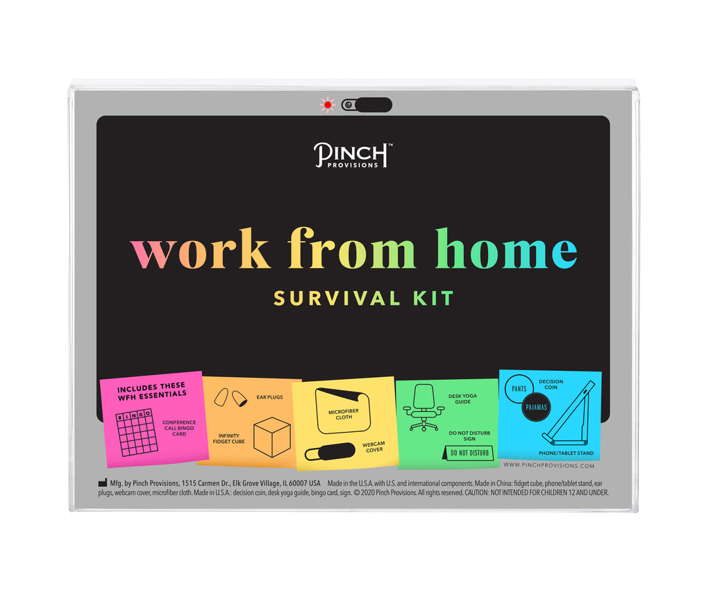 Work From Home Survival Kit