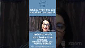 What is  Hyaluronic Acid and why do I need it??