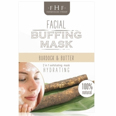 Burdock and Butter Buffing Mask