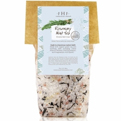 Rosemary-Mint Tea Mineral Bath Soak