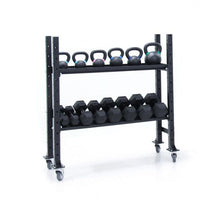 Load image into Gallery viewer, Kettlebell Dumbbell Storage Rack