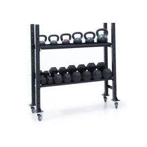 Kettlebell Dumbbell Storage Rack
