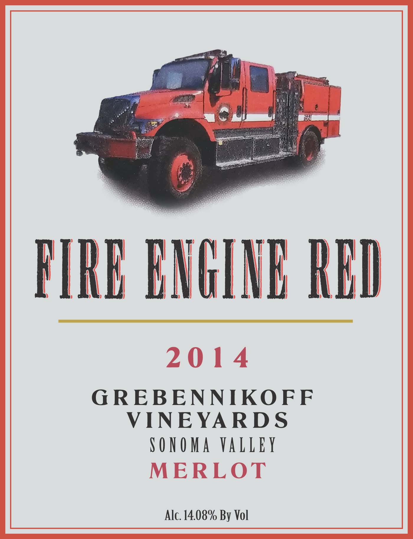 2014 Fire Engine Red