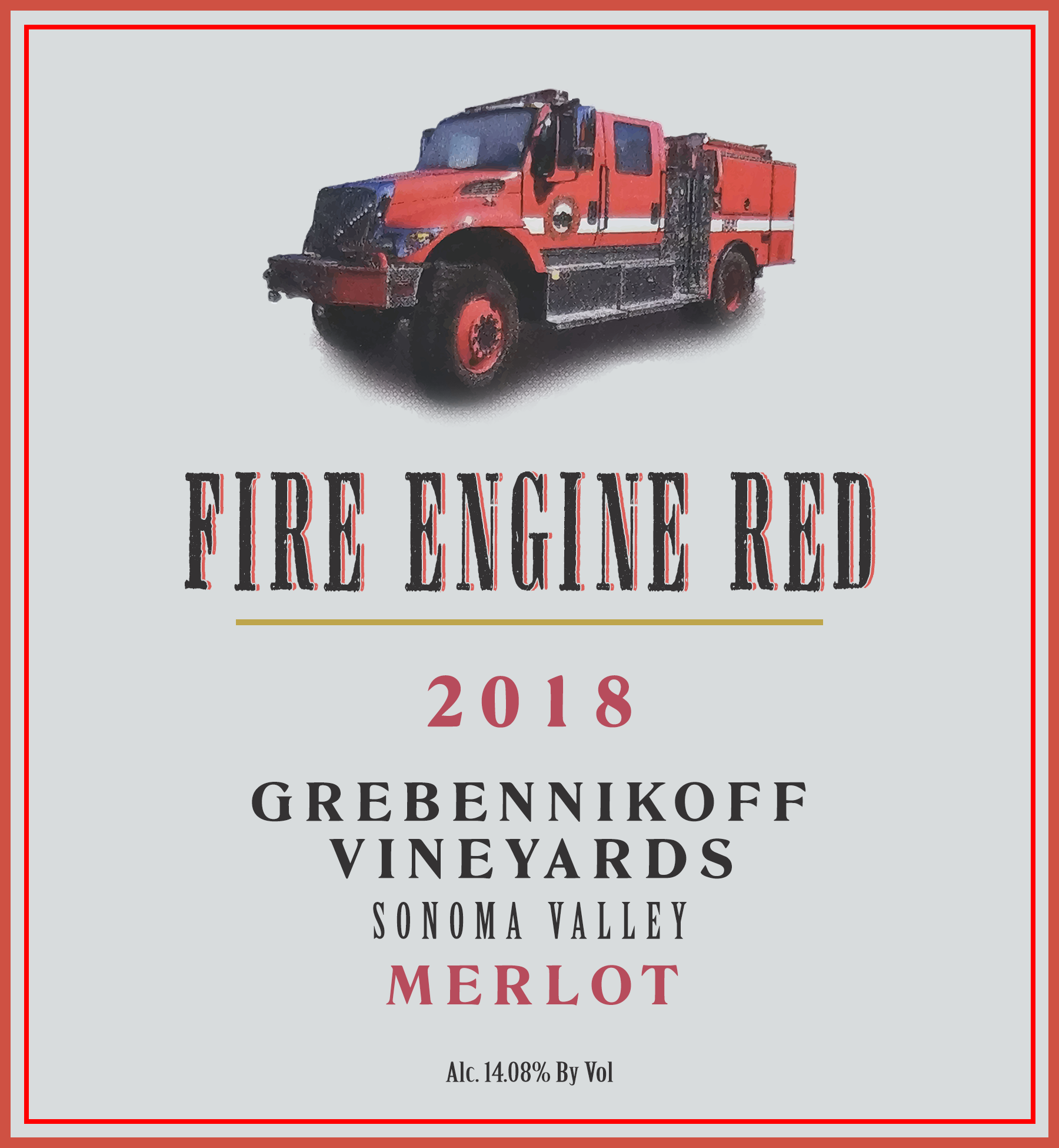 2018 Fire Engine Red