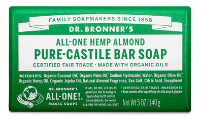 Almond - Pure-Castile Bar Soap - almond-pure-castile-bar-soap