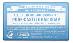 Baby Unscented - Pure-Castile Bar Soap