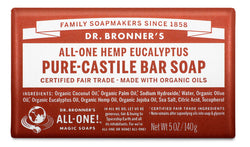 Eucalyptus - Pure-Castile Bar Soap