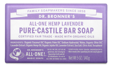 Lavender - Pure-Castile Bar Soap - lavender-pure-castile-bar-soap