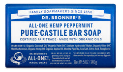 Peppermint - Pure-Castile Bar Soap