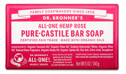 Rose - Pure-Castile Bar Soap