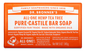 Tea Tree - Pure-Castile Bar Soap