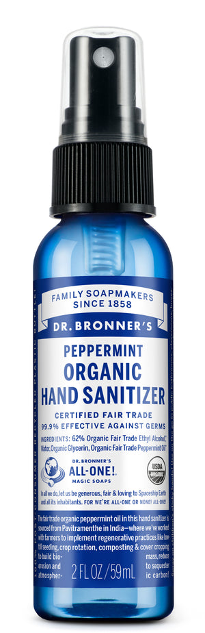 Peppermint - Organic Hand Sanitizer