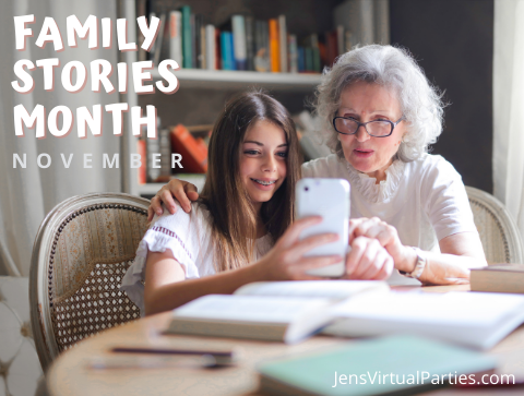 family stories month