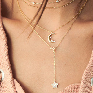 Moon with Dream Necklaces