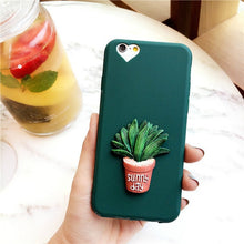 Load image into Gallery viewer, 3D Cactus iPhone Case
