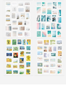 Explore of Life Journal Stickers (50 sheets)