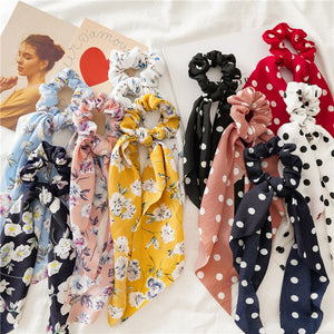 Roman Holiday Scrunchies
