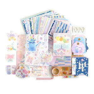 Beautiful of Life Journal Material Paper Set