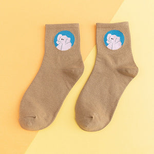 Harajuku Kawaii Cotton Socks
