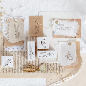 Moment of life Wooden Stationery Stamps