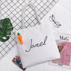 Jamel & Me Canvas Tote Bag