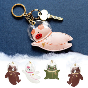Find My Space Animal Keychains
