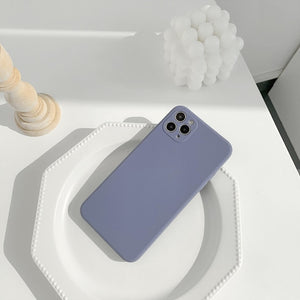 Simple Macaron iPhone Case