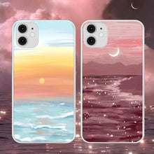 Load image into Gallery viewer, Sunrise & Sunset Art Work iPhone Case