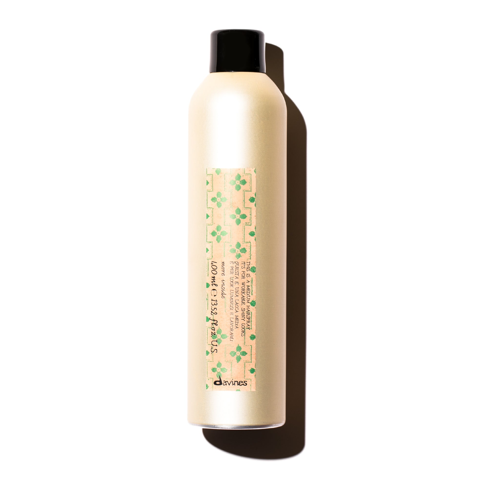THIS IS A MEDIUM HAIRSPRAY 400 ML