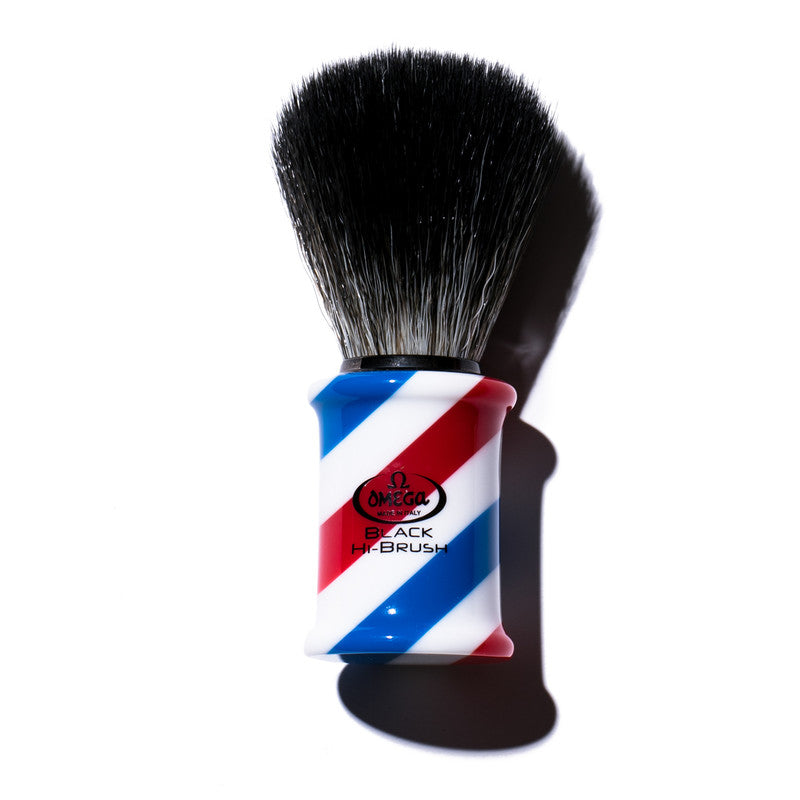 HISOPO SINTETICO HI BRUSH BARBER POLE